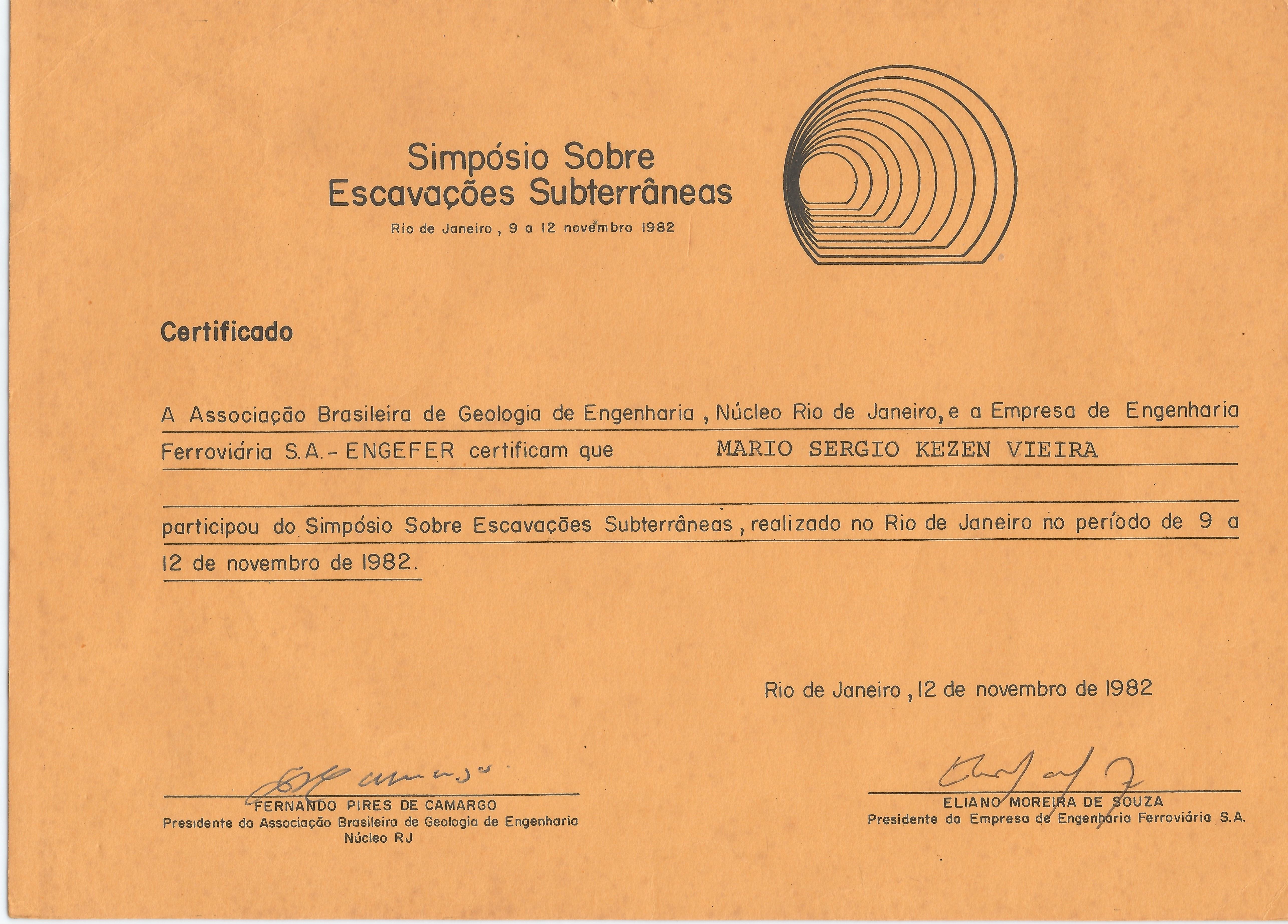 CERTIFICADO CONGRESSO ESCAVAÇÃO 001